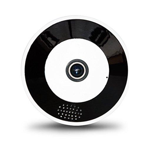 360-Grad-Panorama 2,8 Mm Brennweite Drahtlose WLAN-Kamera Das Internet 960P/1080P/3MP HD Haushalt Nachtsicht Handy Entfernt Zwei-Wege-Sprechanlage Monitor (Farbe : 8GB, größe : 1080P)