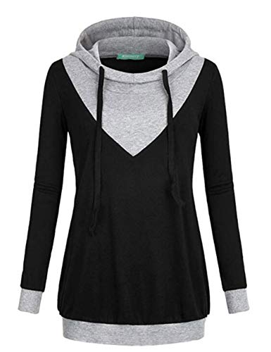 Woman's v neck hoodie