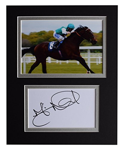 Sportagraphs Martin Dwyer Signed Autograph 10x8 photo display Horse Racing Sport AFTAL COA PERFECT GIFT -