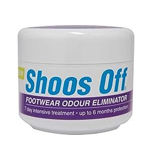 Shoos Off Odour Eliminating Shoe Powder 50g