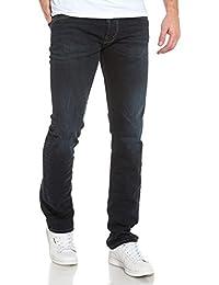 Teddy Smith - Jean regular bleu brut foncé homme - couleur: Bleu - taille: FR 38 US 30