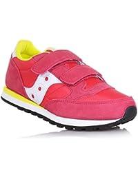 SAUCONY SC57161 JAZZ DBLE HL rosa bianco scarpe bambina girls strappo 0b5776387f9