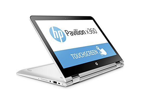 HP Pavilion X360 13-U133TU Laptop (Windows 10, 8GB RAM, 1000GB HDD) Natural Silver Price in India