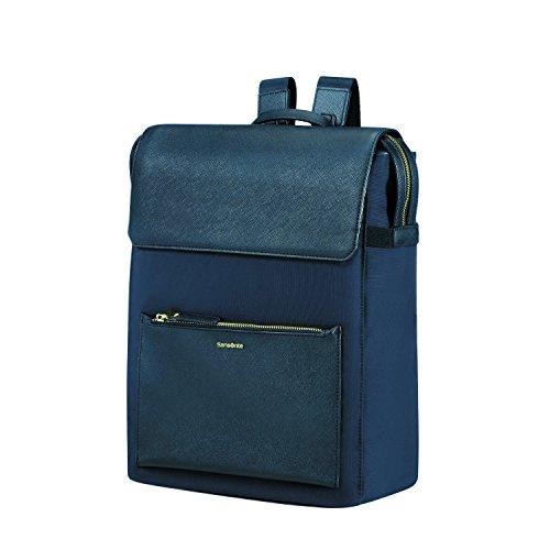 Samsonite Rectangular Backpack14.1 (Dark Blue) -Zalia Rucksack, Dark Blue