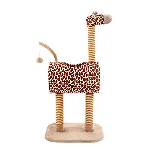 Giraffe Kratzbaum Katzenturm Cat Condo House, Sisal Kratzbäume Beiträge, Sitzstangen, Häuser, Activity Center Kitten Play House -
