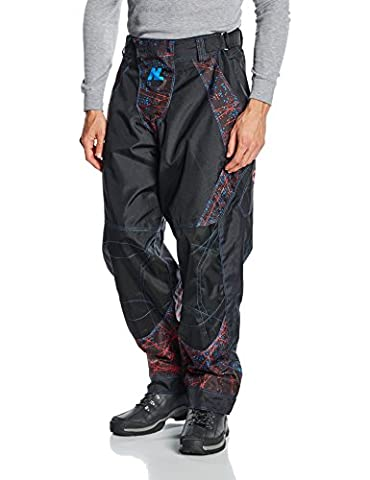 New Legion ultimate Pro Paintball Pants - dash red/blue,