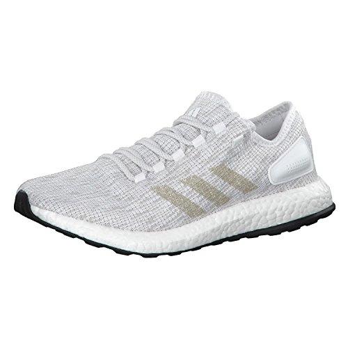 new concept 10e21 1c489 Adidas Pureboost, Zapatillas de Deporte para Hombre, Blanco  (Ftwbla Griuno Balcri