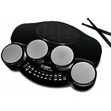 ION Audio Discover Drums Batteria Elettronica Portatile,  USB e Software per Mac/PC