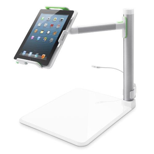Belkin Tablet Stage interaktives Whiteboard, Dokumentenkamera (geeignet für Tablets von 7 Zoll bis 11 Zoll, inkl. Stage App) Office Digital Station
