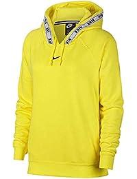 Nike Felpa Sportswear Hoodie Giallo