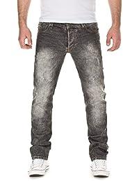 Yazubi Herren Jeans, Modell Dexter, Destroyed