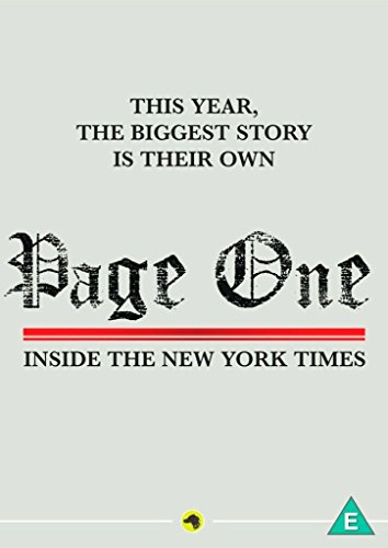Page One: Inside the New York Times [DVD] [UK Import] (New York Times-dvd)