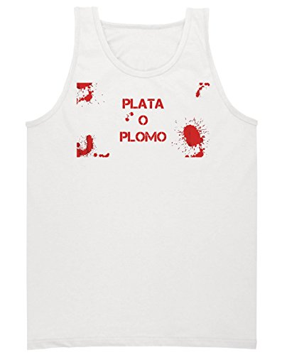 bloody-plata-o-plomo-artwork-camiseta-sin-mangas-para-hombres-shirt-medium