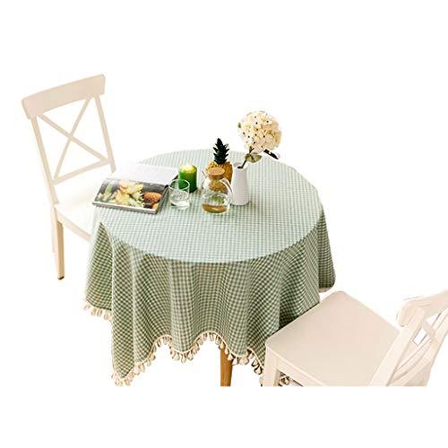 Nappe coton et lin nappe ronde nappe rectangulaire table carrée tissu salon table tissu nappe de mode (taille : 150 * 150cm)