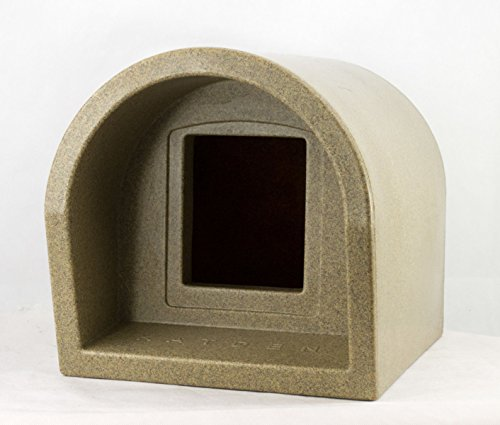 Mr Snugs KatDen Outdoor Cat Kennel - Sandstone Colour