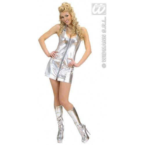 WIDMANN 89713 Erwachsenen Kostüm Disco Queen, Mehrfarbig, L