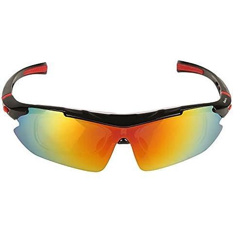 Occhiali da Sole per Sport all'Aperto per