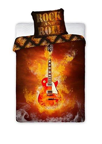 + 70x80 Bettbezug Bettgarnitur Gitarre ()