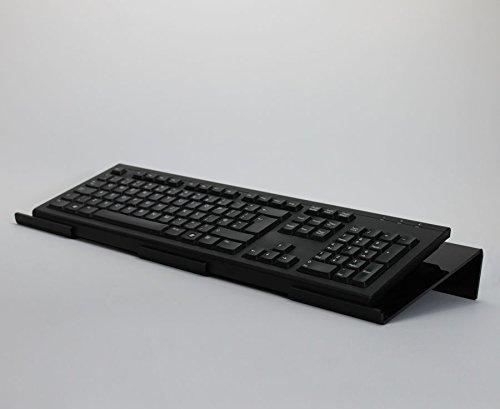 Gran Ángulo ergonómico ordenador teclado soporte
