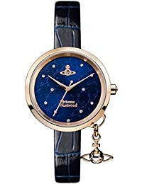 Vivienne Westwood Womens Analogue Classic Quartz Watch with Leather Strap VV139NVNV