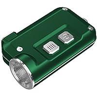 HANDIPRO NiteCore Tini 380Lm, LED-Schlüsselanhänger mit Taschenlampe, USB-Wiederaufladbar, Blau