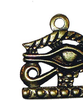 Glücksbringer/Amulett/Talisman/Symbol/Schmuck: Ägyptischer UDJAT - HORUSAUGE - Anhänger (Schutz/Macht/Einfluss)