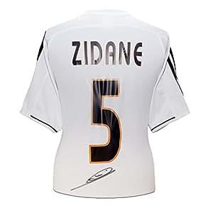 Zinedine Zidane Signé Real Madrid 2003-04 Football maillot