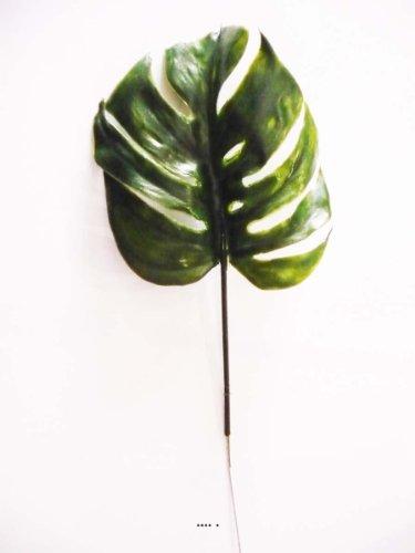 Künstliche–Blatt Philodendron H 39cm Kunststoff für Außen D 15cm originelle