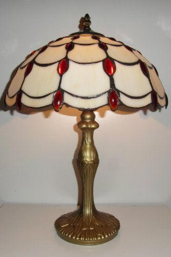 tiffany-stained-glass-table-lamp-red-jewel