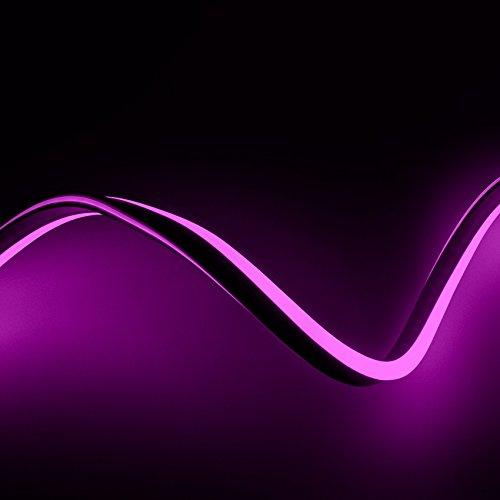 Neón LED Flexible 120LED/m Manguera 5 Metros Rosa efectoLED