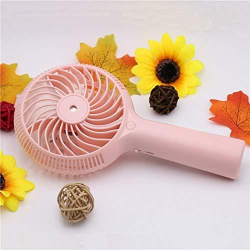 tffl Misting Cooling Handheld, Mini Ventilador de Agua nebulizada, 1200 mah, humidificador...