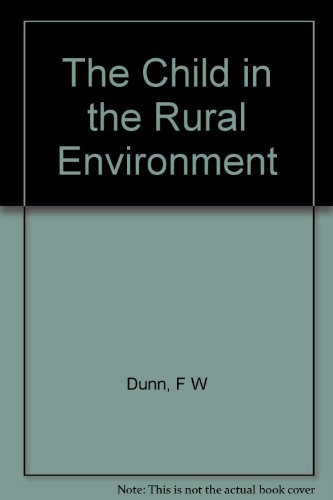 PDF The Child in the Rural Environment Download - RileyAndre