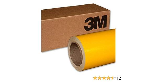3m 2080 G25 Vinylfolie Mit Sonnenblumen Motiv Glänzend 3in X 5in Sample Size Gelb 2080 G25 Auto