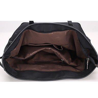 YJIUX Frauen Mode klassische Crossbody-Tasche Black