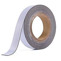 TEPSMIGO Metal Tape Self-Adhesive White 400-800 cm Ferro Tape for Magnets Magnetic Strip Magnetic Tape Magnetic Tape Counterpart Magnetic Tape Magnetic Strip Steel Tape