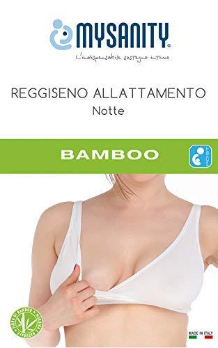 MYSANITY Reggiseno Allattamento Regolabile Soutien-gorge d'allaitement, Blanc Bianco, Medium (Taille fabricant: 3 C) Femme