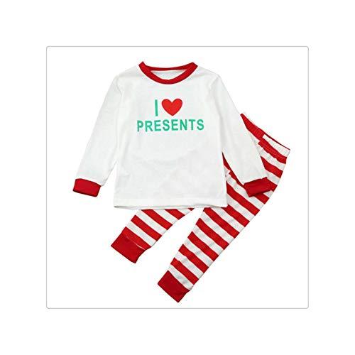 Pajamas Suit Fashion Set Match Men Women Kids Baby Christmas Sleepwear Nightwear Family Pyjamas H Girl S (Christmas Story-pyjama A)
