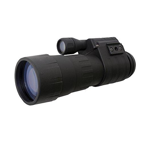 Sightmark Ghost Hunter 4x50 Nachtsichtgeräte Monokular, Schwarz, M