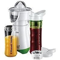 Russell Hobbs 21352-56 - Explore mix & Go juice, 2 en 1, batidora y exprimidor, 300W, color blanco y verde