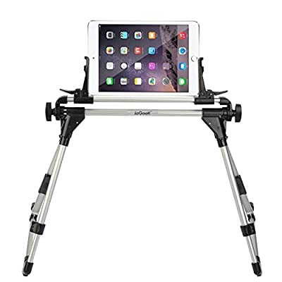 ieGeek Phone Tablet Holder Stand, Universal Floor Desk Sofa Bed Stand Adjustable Portable iPad iPhone Stand, Lazy Man Lazy Bedside Kitchen Office Bathroom Tablet Stand for for iPhone 7/6/6S Plus, iPad Mini iPad 2/3/4, iPad 5/iPad Air, Samsung Galaxy Tab S