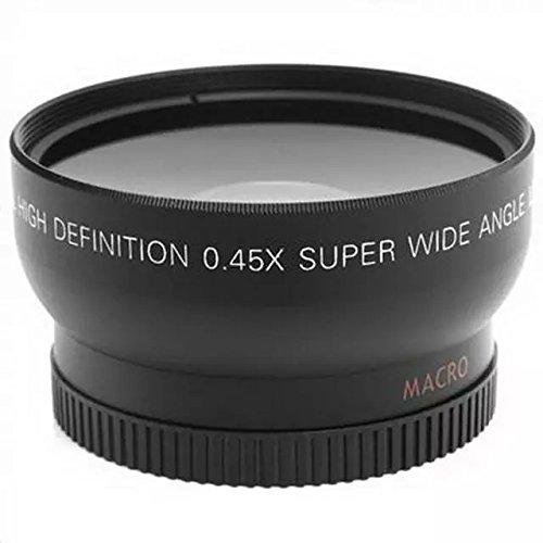 Goliton® los 52MM 0.45X Lente Gran Angular + Macro + Bolsa de lente para Nikon D5000 D3100 D5100 LF36