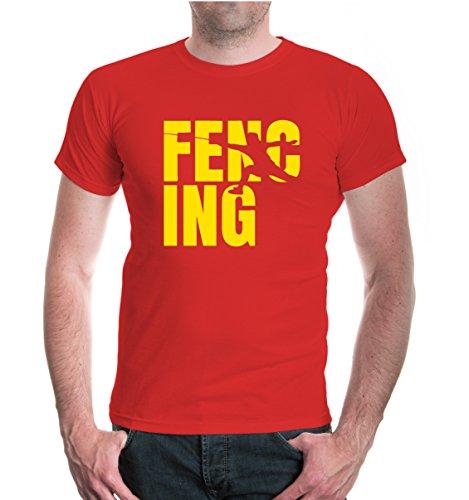 buXsbaum® T-Shirt Fencing Type Red-Sunflower