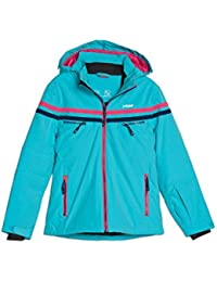 ROSSI Winterjacke für Girls, Ski micro-Airtex wasserdicht winddicht Anti-Pilling