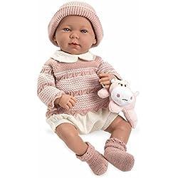 Muñecas Arias Muñeco Real Baby Elegance 65184