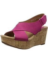Clarks 261153144 - Sandalias de vestir de Piel para mujer 6b624d121372