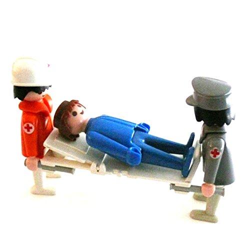 playmobil ® - Notarzt Krankentransport 1. Hilfe - Klinik Krankenhaus - Sanitäter