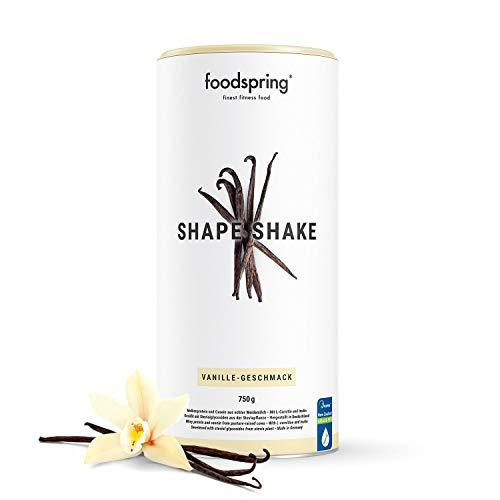 foodspring Shape Shake, 750g, Vanille, Drink für dein Figur-Training, Von führenden Ernährungsexperten entwickelt und in Deutschland hergestellt