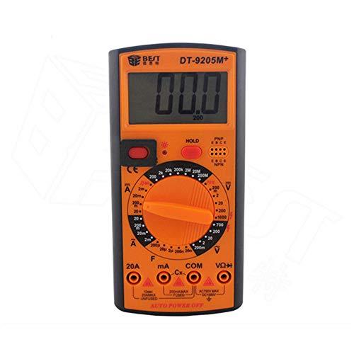 YHL Fieldpiece Multimeter Digitales Multimeter mit automatischem Schlaf und Speicher für Kfz-Labors (ohne Batterie) Extech True Rms Digital-multimeter