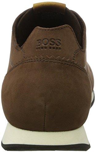 Boss Orange Herren Adrenal_Runn_Nuun 10198919 01 Sneaker Braun (Medium Brown)