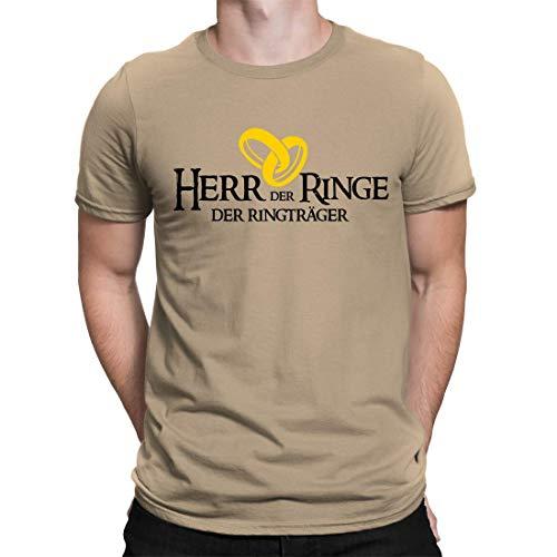 Junggesellenabschied T-Shirt Der Herr Der Ringe - Ringträger - Herren Fun T-Shirt Zum JGA - Erhältlich in 15 Farben (S)